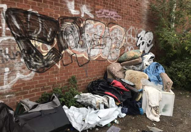 City sees 40% rise in fly-tipping